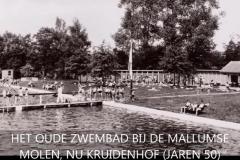 Mallumse Molen Zwembad jaren50
