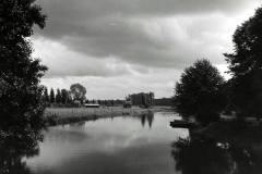 Berkel met Stijgoord vanaf de Hoevenbrug bij Reudink, foto Hendri van Zuilekom