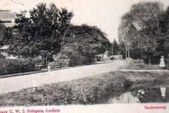 Villa Endepol aan de Berkel bij  de Hoevenbrug, aan begin Graaf Ottoweg (toen Stationsweg)