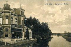 Villa Endepol vanaf de Hoevenbrug (Graaf Ottoweg, toen Stationsweg)