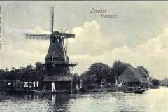 Berkelzwembad achter Hotel Stad Lochem, begin 20e eeuw