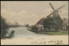 Reudink molen aan de Berkel, ansichtkaart
