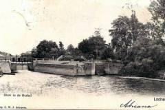 Stuw en Sluis, begin 20e eeuw