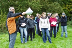Stadtlohn - Hengeler Exkursion mit Studenten