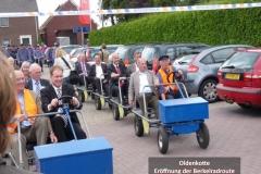 Oldenkotte - Eröffnung der Berkelradroute