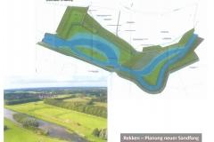 Rekken - Planung neuer Sandfang