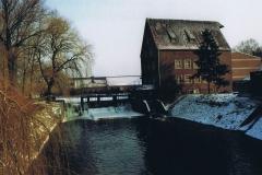 Fotowedstrijd-Werner Lepping-Berkel Stadtlohn met Alte Mühlenbrücke (2)