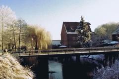Fotowedstrijd-Werner Lepping-Berkel Stadtlohn met Alte Mühlenbrücke