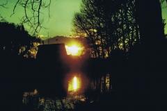 Fotowedstrijd-Werner Lepping - zonsondergang Berkelmühle Stadtlohn