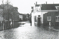 Overstroming Eibergen 1960: Begin Grotestraat