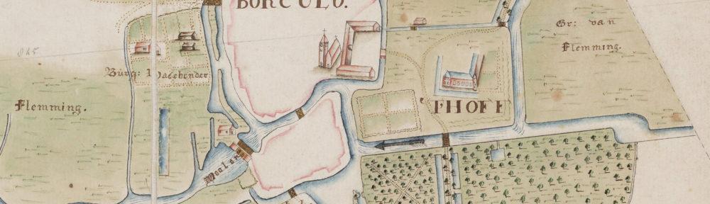 Nieuw op de site: 'Caarte van de rivier den Berkel'