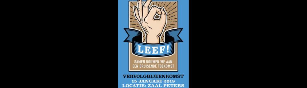 Vervolgbijeenkomst Leef! in Borculo