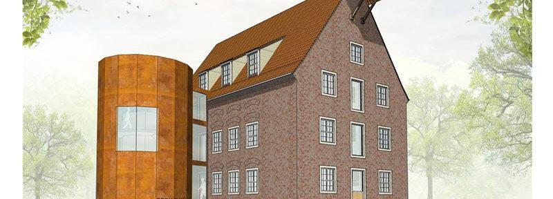 Münsterland Zeitung: Umbau Gebäude Mühle Stadtlohn sollte im Herbst 2020 fertig sein mussen