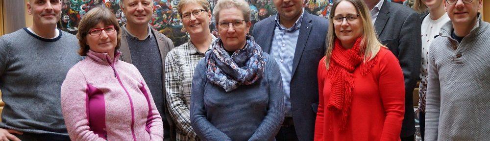 Treffen zum Berkelfestival Deutsche Seite in Gescher