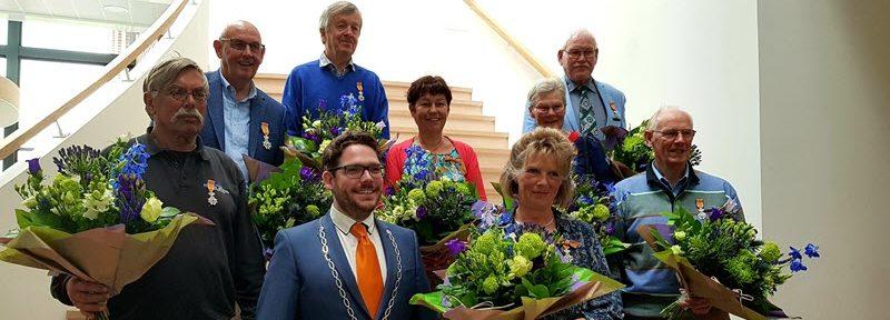 Bestuurslid Vrienden van de Berkelcompagnie, Wim ter Meulen, Ridder in de Orde van Oranje-Nassau