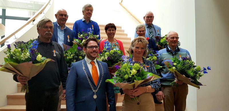 Vorstandsmitglied Freunde der Berkelkompanie, Wim ter Meulen, 'Ridder in de Orde van Oranje-Nassau'