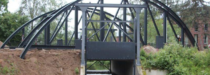 Bogen oude Berkel spoorbrug terug in Borculo