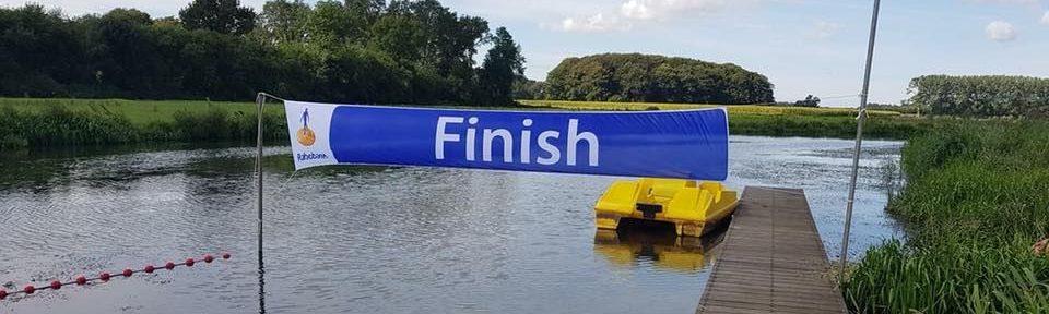 Stentor: Jaarlijkse Berkel zwemmarathon in Almen op 7 juli 2019