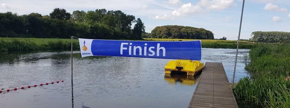 Stentor: Jaarlijkse Berkel zwemmarathon in Almen op 7 juli