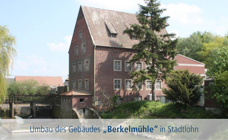 Presentatie plannen verbouwing gebouw Berkelmolen Stadtlohn