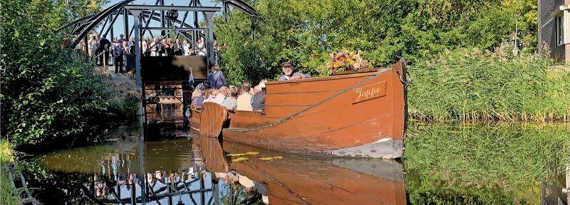 Jappe jarig en nieuwe sluis in Borculo geopend