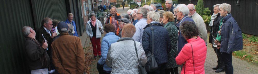 Foto's van de geslaagde Berkel Excursie voor Vrienden van de 3e Berkelcompagnie