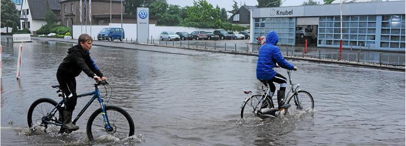 Münsterland Zeitung: Stadlohn greift hochwasser an