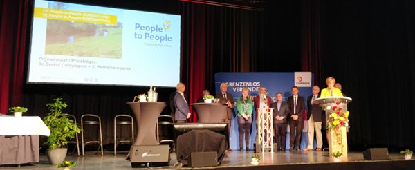 12e People-to-people-EUREGIO-prijs voor 3e Berkelcompagnie