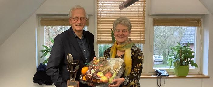 Afscheid Arnold Gerritsen als voorzitter Stichting 3e Berkelcompagnie