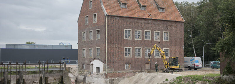 Aanvang ruwbouw Berkelmolen Stadtlohn