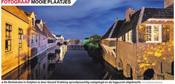 Legpuzzel Berkelpoort Zutphen